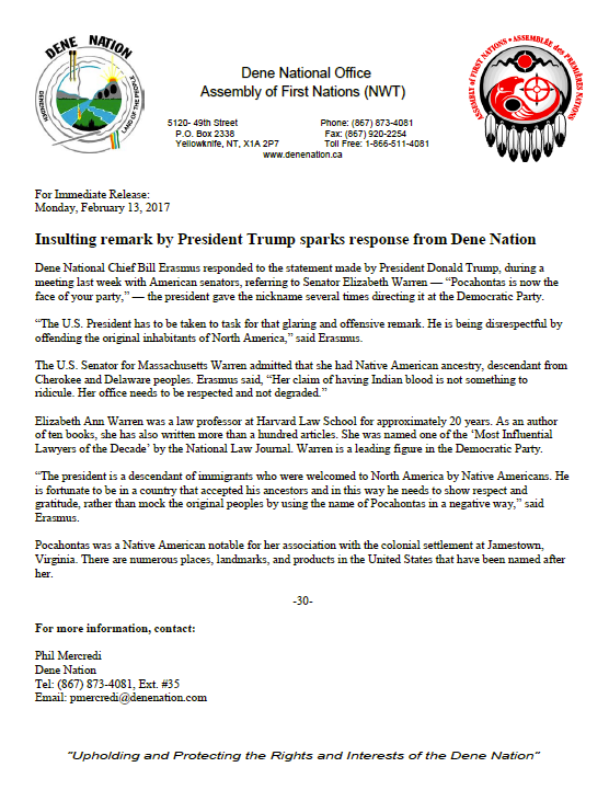 dene-leader-responds-to-trumps-remarks